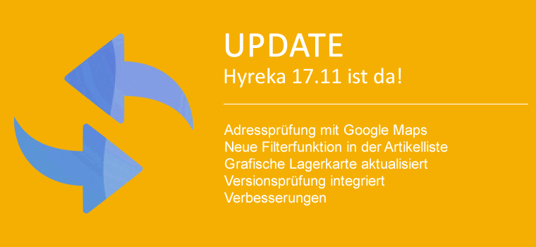 Neuheiten in WaWi Update 17.1128