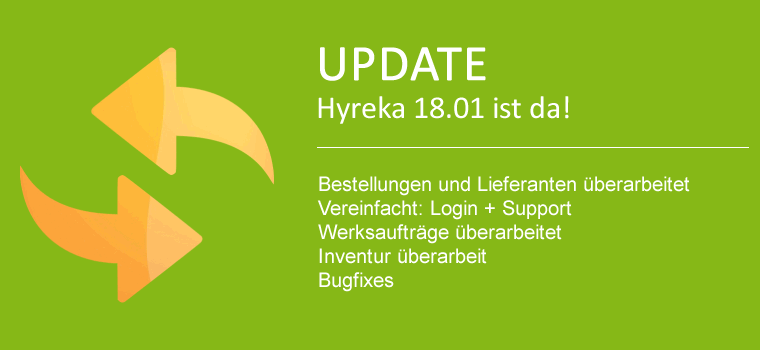 Neuheiten in WaWi Update 18.0129