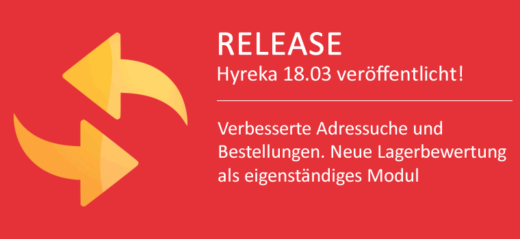 Neuheiten in WaWi Update 18.0312